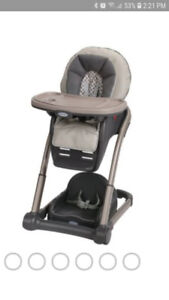 Highchair and booster