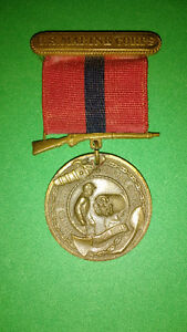 US Marine Corps Good Conduct Medal WWII