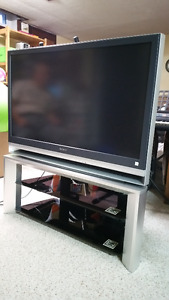 SONY Wega 46 inch LCD Projection TV with stand