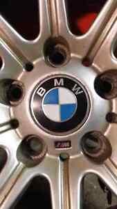 "BMW M-Sport Winter Rims with 17"" Blizzaks Cambridge Kitchener Area image 1"