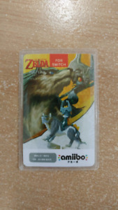 The legend of zelda wolf link amiibo card 20 heart for switch