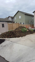 DIRT/SOD/CLAY AND MORE REMOVAL FROM GARAGE PAD