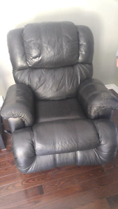 Leather recycling chair
