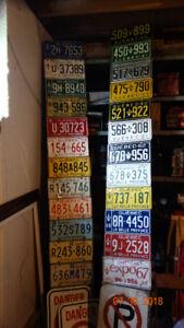 plaques de1956 a 1979