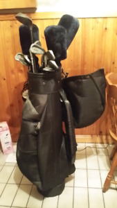 "Wilson ""Pro Technique"" golf clubs with bag"
