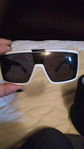 White red dragon sunglasses
