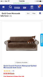 Sofa or couch cover