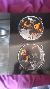 Insanity 10 disc workout with case