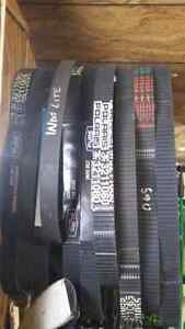 Polaris belts new and used