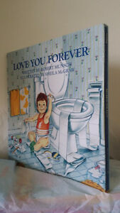 ▀▄▀Love You Forever in Slipcase Hardcover by Robert Munsch