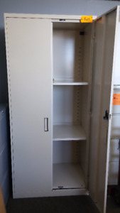 Used Metal Mammoth Storage Cabinets