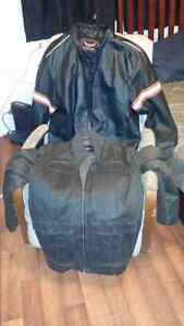 2 XXL Coats One Leather One Guess (each)