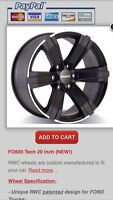 Wheels for 2004-2016 Ford F-150 & Expedition, Lincoln Navigator.