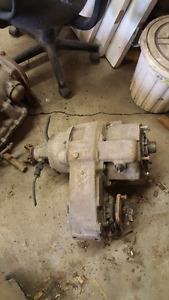 Gm cast iron transfer case