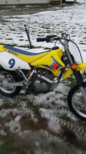 For sale suzuki 125 dirt bike