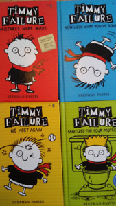 Set of 4 Hardcover Timmy Failure books