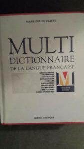Dictionnaire neuf jamais ouvert