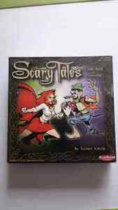 Scary Tales board game / card game Little Red vs Pinocchio