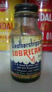 Canadian tire corporation weatherstripping lubricant bottle