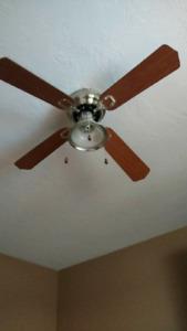 """44"""" Brown Ceiling Fan"""