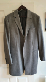 Marks And Spencer grey overcoat size L