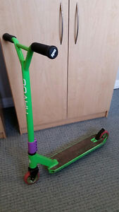 Havoc Storm scooter with ODI grips