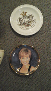 COLLECTION ASSIETTES ROYALES LADY DIANA /MARIAGE.