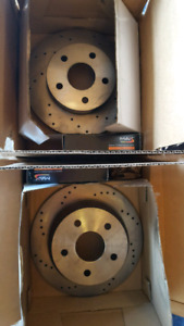 Rotor and Pads Front and Back 1999-2004 Jeep Grand Cherokee WJ