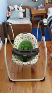 New born swing and toddler ExerSaucer