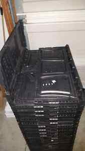 Folding plastic boxes Windsor Region Ontario image 4