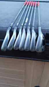 Right handed Golf Clubs - Cobra Bio Cell Irons Stratford Kitchener Area image 3
