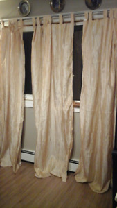 3 different Curtains  set  for sale