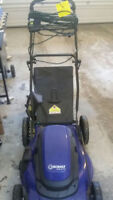 Electrical lawn mover