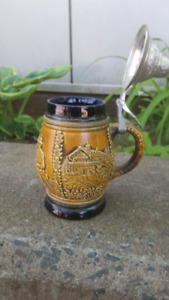 Authentic German Beer stein post 1949