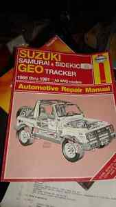 suzuki samuri/sidekick service manual