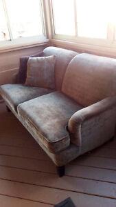 Loveseat & chair