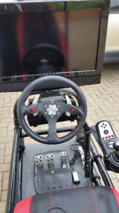 Gaming chair and controls - PS3 included