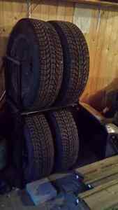 Winter Tires on Steel Rims (4)
