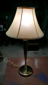 Retro Gold Table Lamp for $10
