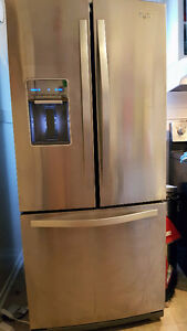 Whirlpool refrigerator fridge freezer must sell ASAP