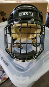 Helmet and cage to donate