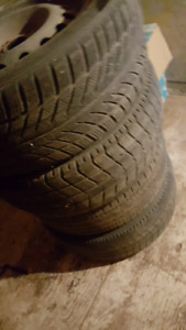 Tires used 3 decent all on rims
