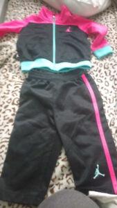Jordan sweat suit 6-9 months