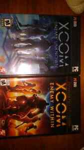 Xcom Enemy Unknown and Expansion PC Games