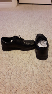 Boys Sperry Top-Sider (Nathaniel Black) dress shoes, size 4 1/2