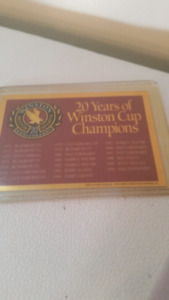 nascar Winston Cup champion cards
