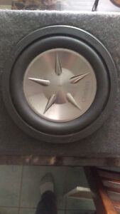 Clarion sub woofer