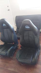 Honda prelude, civic ,Acura leather seats