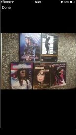 Michael Jackson DVD new/sealed £6 for all
