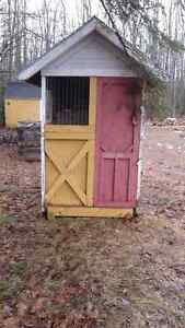 Chicken coop/Hen house +feeders & chickens for sale